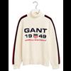 GANT Retro Shield Rib Knitted Polo Dam