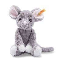 Soft cuddly friends, Mia mouse grey 20 cm