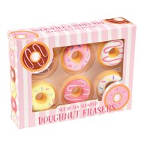 Doughnut erasers scented