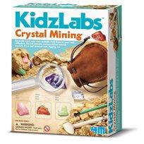 Kidzlabs, crystal mining
