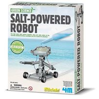 Green Science, salt powered robot