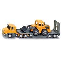 Lastbil med frontlastare