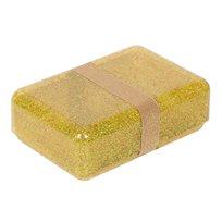 Matlåda glitter, guld