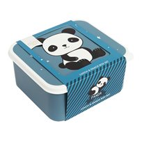 Lunch & snack box set 4 delar, panda