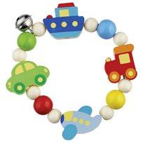 Babyleksak kulor på tråd, fordon