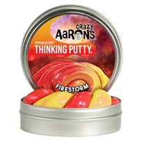 Thinking putty, fire storm