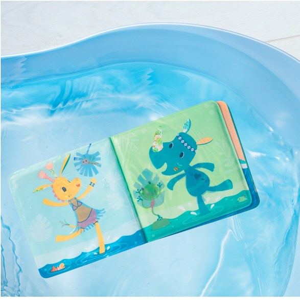 Lilliputiens Anatole Magical Bath Book