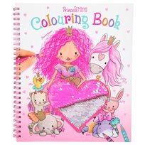 Princess Mimi målarbok med paljetter
