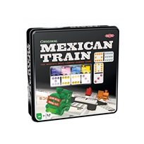 Mexican train, plåtask