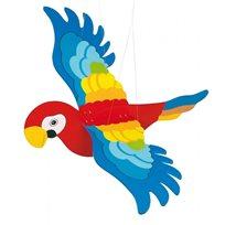 Mobil papegoja siluett, stor