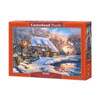 Pussel winter cottage, 500 pcs