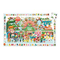 Observation puzzle 35 pcs, crazy park
