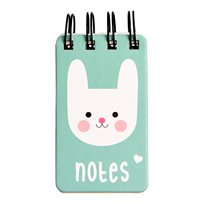 Bonnie the bunny spiral notebook