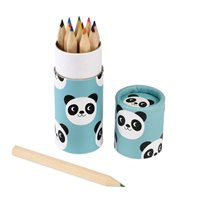 Miko the panda colouring pencils in tube