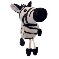 Fingerdocka Zebra