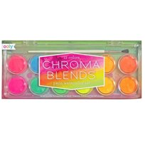 Chroma blends watercolor paint set, neon