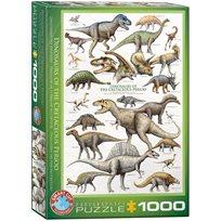 Dinosaurs Of The Cretaceous, 1000 Bitar
