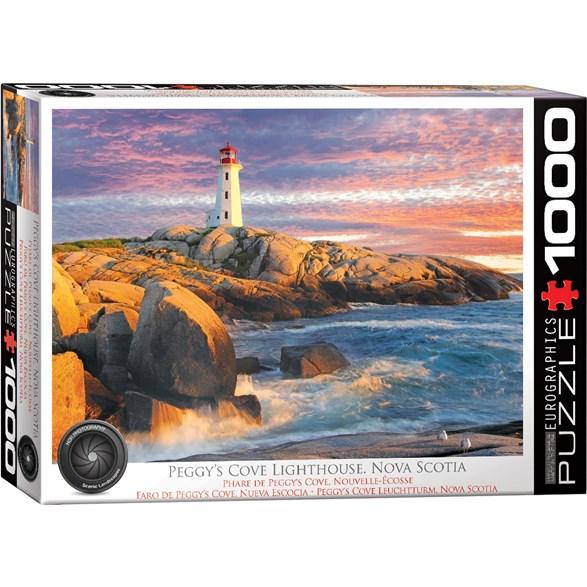 Peggy Cove Lighthouse Nova Scotia, 1000 Bitar