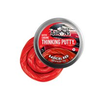 Thinking putty, radical red