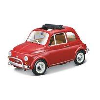 Fiat 500L 1968 1:24, red