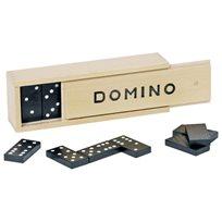 Domino i träbox