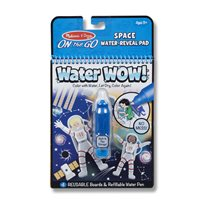 Water reveal pad, space