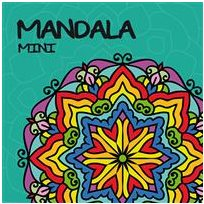 Mandala mini turkos