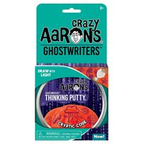 Thinking putty, cryptic code ghostwriter