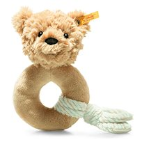 Cuddly friends Jimmy teddy bear grip toy with rattle