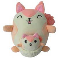 * PREORDER * Mama and baby 20 cm, ekorre