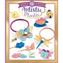 Artistic plastic, haristyling accessories