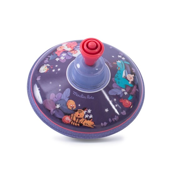 Small spinning top, dans le jungle