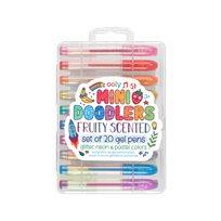 Mini doodlers, fruity scented gel pens