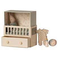 Baby room, micro rabbit