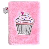 Fluffig anteckningsbok, cupcake