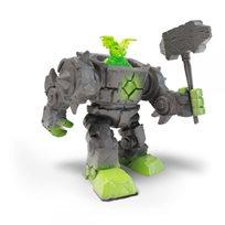 Mini creatures stone robot