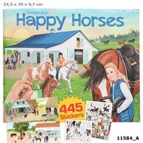 Create your happy horses pysselbok