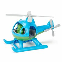 Helicopter, blue top