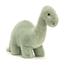 Fossilly brontosaurus, medium