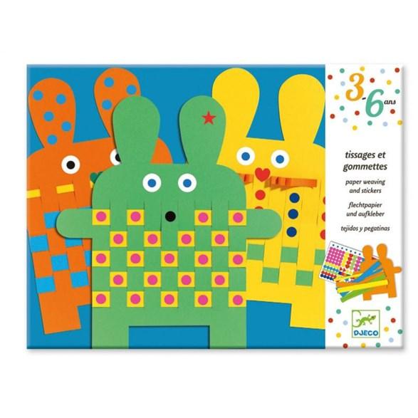Papperspyssel 6 bunnies