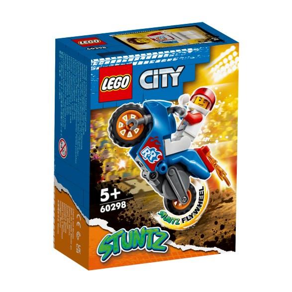 City - stuntcykel med raket