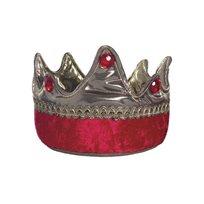 Krona, röd/guld