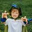 Toddler dragon cape, 5-6 år