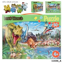Dino world pussel, 50 bitar
