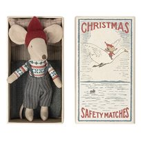 Christmas mouse in box, big brother