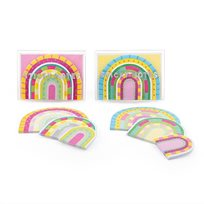 Sticky notes rainbow