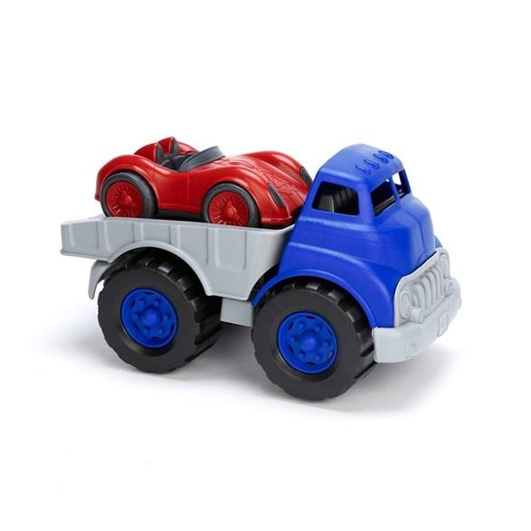 Biltransport och racerbil