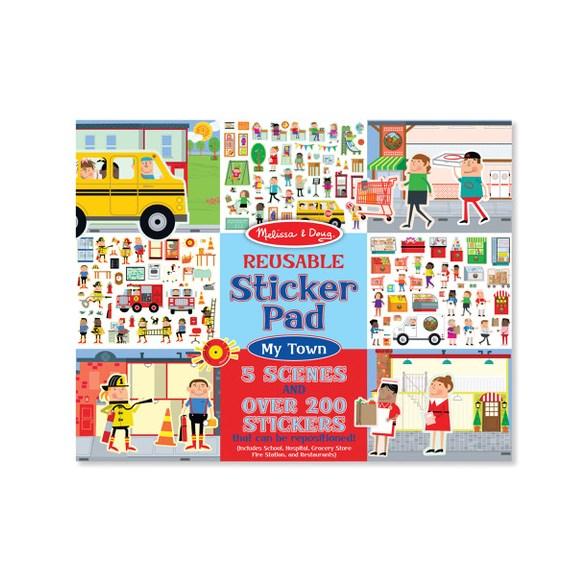 Återanvändningsbara Stickers, Stad