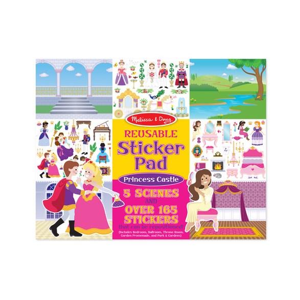 Återanvändningsbara Stickers, Prinsesslott