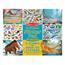 Återanvändningsbara Stickers, Dinosaurier
